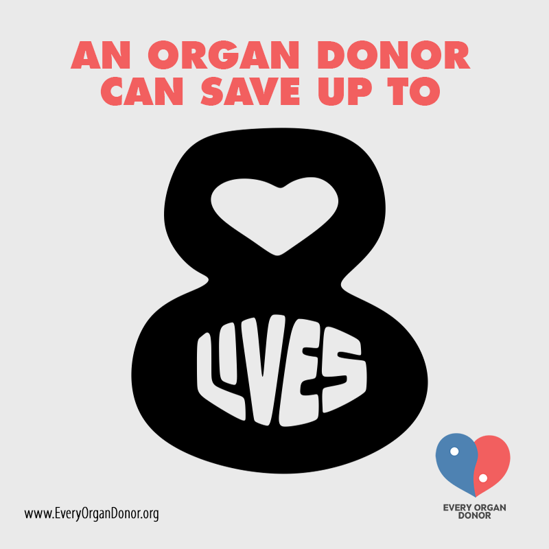 organ donation facts 2